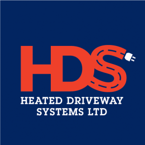 HDS logo blue back